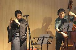 ウッドベース科レッスン講師 吉野弘志のデュオライブ