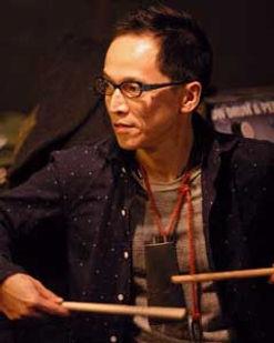 ドラム科レッスン講師 外山明のライブ@アケタの店