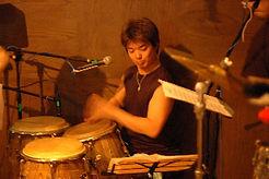 パーカッション科レッスン講師 石川雅康のライブ