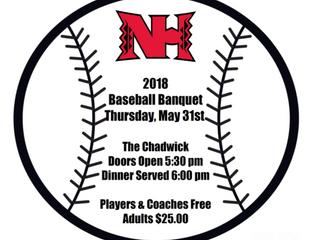 2018 Baseball Banquet