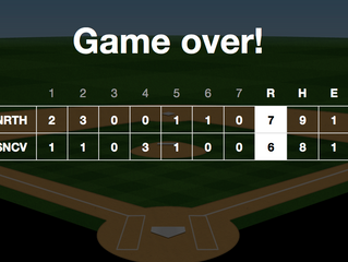 North Hills Indians Varsity Clinches Lead In Sixth Inning To Defeat Seneca Valley