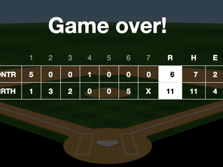 North Hills Indians Varsity Clinches Lead In Sixth Inning For Victory Over Ontario HS