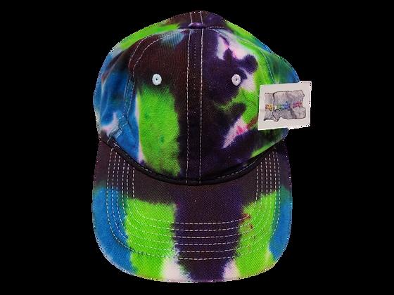 Purple, Bright green and Bright Blue Ball Cap