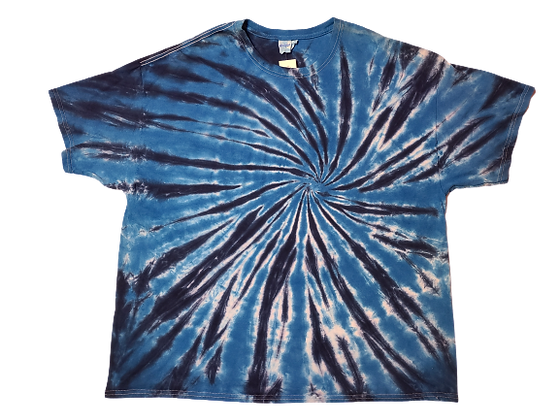 Make A Burst Spiral Pattern Shirt