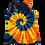 Thumbnail: Make A Four Color, Two Spiral Pattern Woman's Racerback Tank