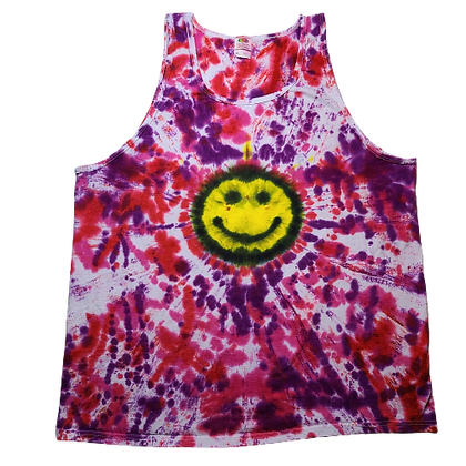 Adult Size 2XL Tank Top with a Happy Face