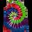 Thumbnail: Make A Four Color Classic Spiral Pattern Woman's RacerbackTank