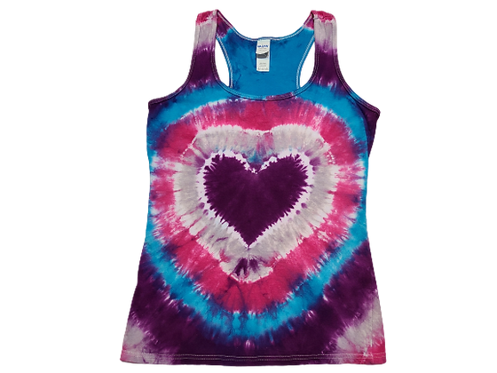 Make a Heart Racerback Tank with Circular Lines