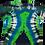 Thumbnail: Adult 2XL Skull Shirt