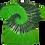 Thumbnail: Kid's Large Two Spiral Shirt