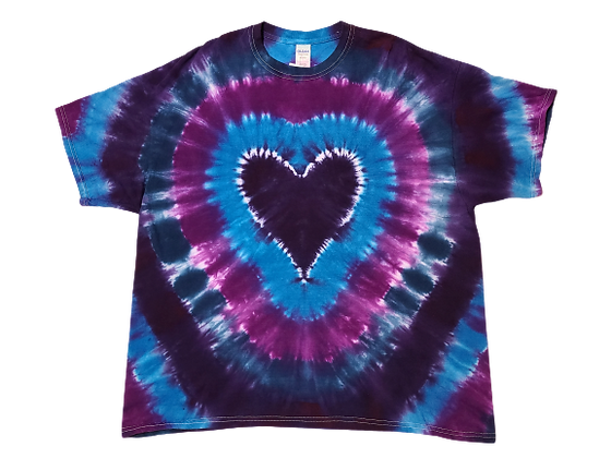 Make a Heart Shirt with Circular Lines