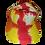 Thumbnail: Red, Yellow and Orange Ball Cap
