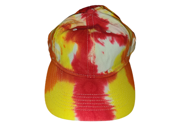 Red, Yellow and Orange Ball Cap