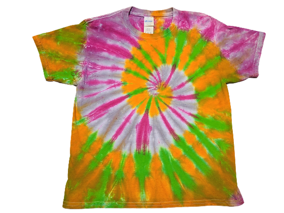 Kid's Medium Four Color Two Spiral Shirt