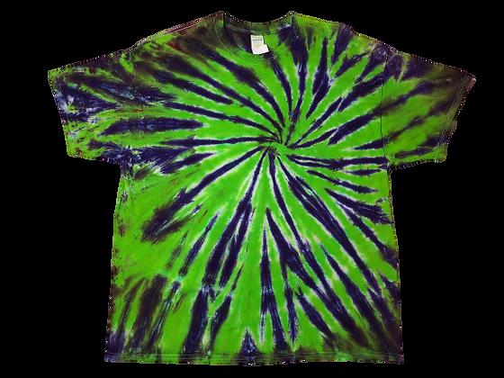Adult 2XL Two Color Burst Pattern Shirt