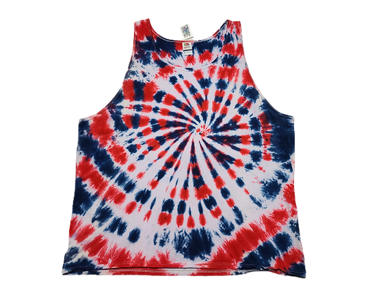Adult Size 3XL Tank Top with RWB Spiral