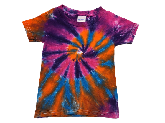 Toddler 2T Four Color Two Spiral Shirt