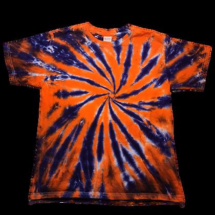 Kid's Large Burst Spiral Shirt