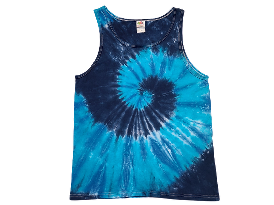 Adult Size Small Tank Top with Three Colors and Two Spirals