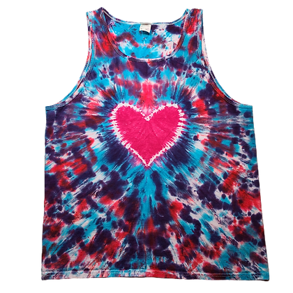 Adult Size XL Tank Top with a Heart