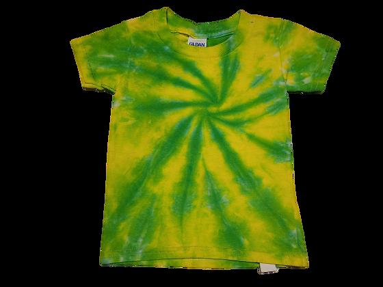 Toddler 2T Burst Spiral Shirt