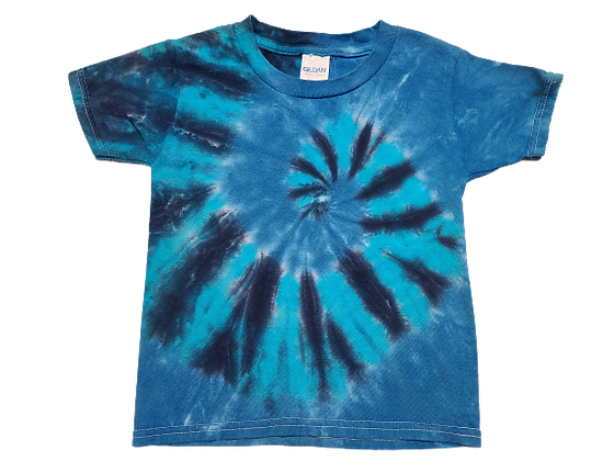 Make A Kid's Three Color, Two Spiral Pattern Shirt