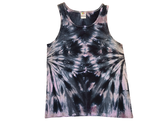 Adult Size Medium Tank Top with Two Side Spirals