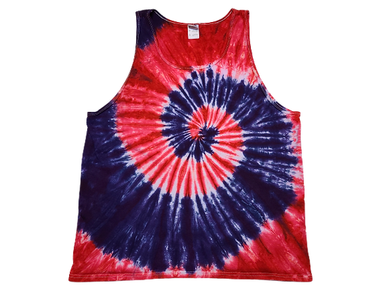 Make A Two Spiral Pattern Adult Tank Top