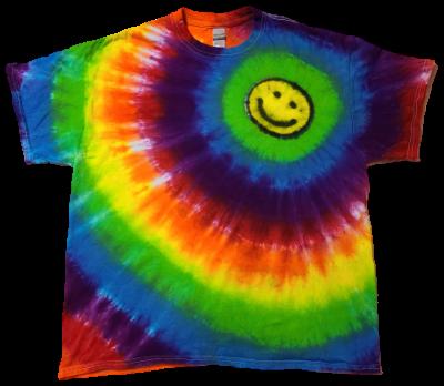 Make a Custom Circular Line Happy Face Shirt