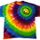 Thumbnail: Adult XL Rainbow Shirt with Offset Happy Face