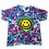 Thumbnail: Kid's Extra Small Shirt with a Happy Face and Mottled Colors