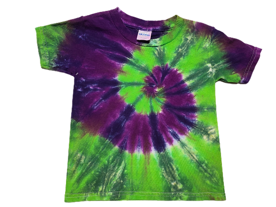 Toddler 4T Four Color Two Spiral Shirt