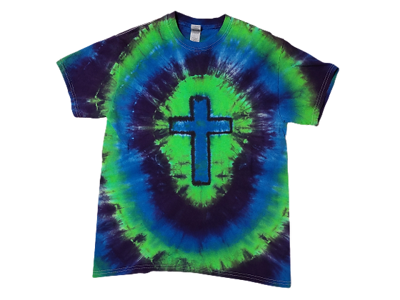 Make a Cross Shirt with Circular Lines