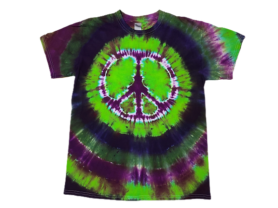 Adult Medium Peace Sign Shirt