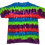 Thumbnail: Kid's XL Shirt with Multi-Color Horizontal Stripes