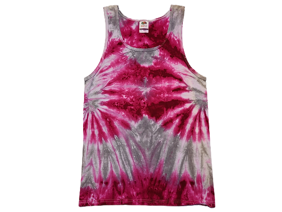 Adult Size Small Tank Top with Two Side Spirals