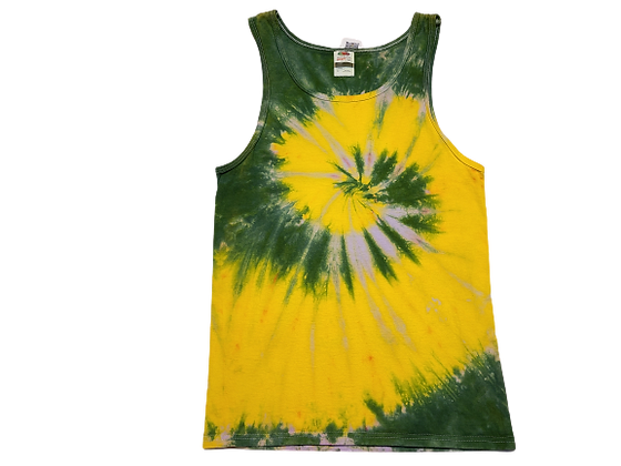 Adult Size Small Tank Top with Two Spirals