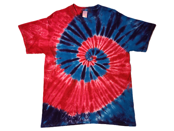 Make A Four Color, Two Spiral Pattern Shirt
