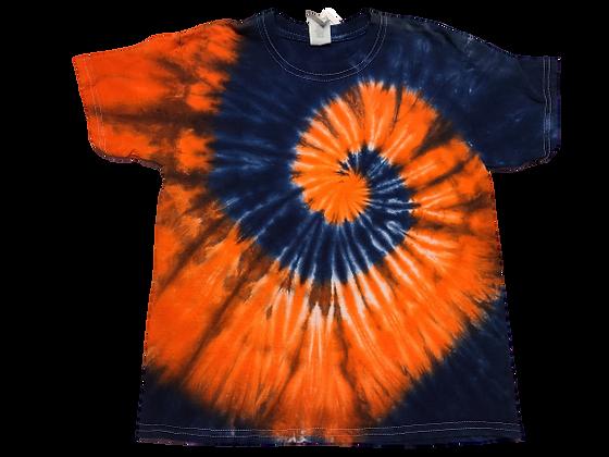 Kid's Medium Two Spiral Shirt