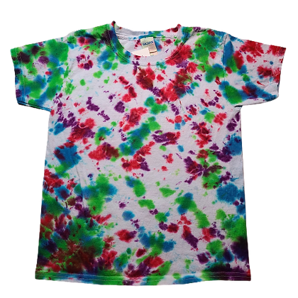 Kid's Extra Small Shirt with Mottled Colors