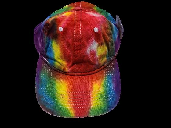 Rainbow Colored Ball Cap