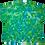 Thumbnail: Adult 3XL Mottled Peace Sign Shirt