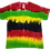 Thumbnail: Kid's Medium Shirt with Multi-Color Horizontal Stripes