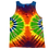 Thumbnail: Make A Six Color Rainbow 2 Side Spirals Tank Top