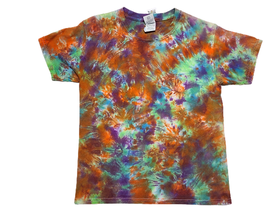 Kid's Small Shirt with Mottled Colors