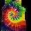 Thumbnail: Make A Six Color Rainbow Classic Spiral Pattern Woman's Racerback Tank