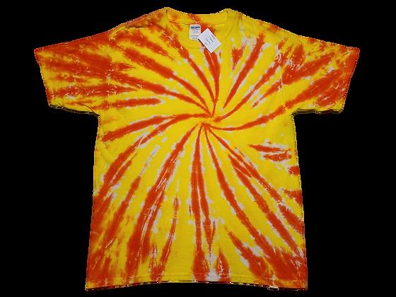 Kid's XL Burst Spiral Shirt