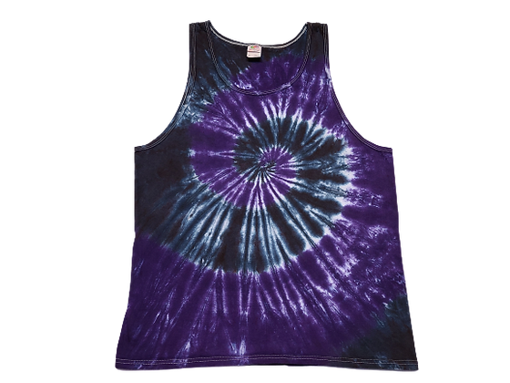 Adult Size XL Tank Top with Two Spirals