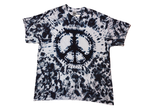 Adult Large Peace Sign Shirt