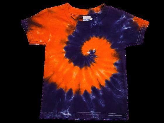 Make A Kid's Two Spiral Pattern Shirt